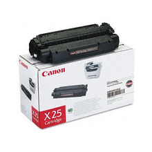 Canon X25 (2,500 Pages) High Yield Black Laser Toner Cartridge - OEM 8489A001AA