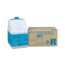 OEM Ricoh 888445 Cyan Laser Toner Cartridge, Type 160