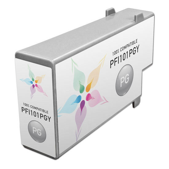 Canon Compatible PFI-101PGY Pigment Photo Gray Ink