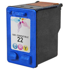 Remanufactured Replacement Ink Cartridge for Hewlett Packard C9352AN (HP 22) Tri-Color