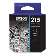 OEM Epson T215120 (215) DURABrite Ultra Black Ink Cartridge