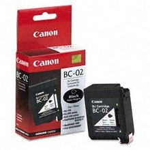 Canon BC-02 Black OEM Ink Cartridge, 0881A003