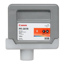 OEM Canon 1492B001AA (PFI-301R) Red Ink