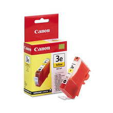Canon BCI-3eY Yellow OEM Ink Cartridge, 4482A003