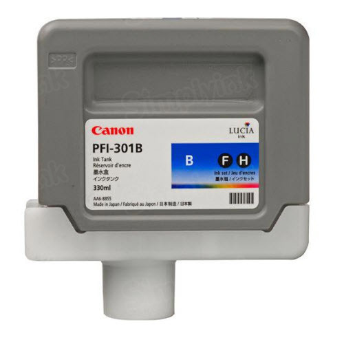 OEM Canon PFI-301B Blue Ink