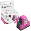 Remanufactured Replacement Magenta Ink for HP 02