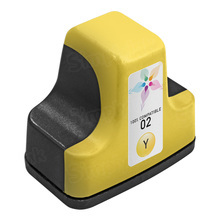 Remanufactured Replacement Ink Cartridge for Hewlett Packard C8773WN (HP 02) Yellow