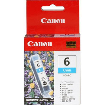 Canon BCI-6C Cyan OEM Ink Cartridge