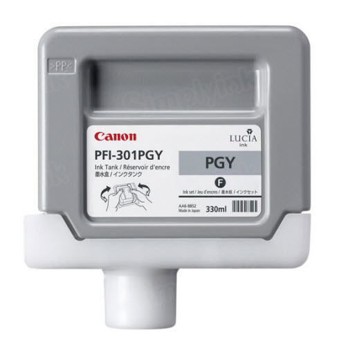 OEM Canon PFI-301PGY Photo Gray Ink