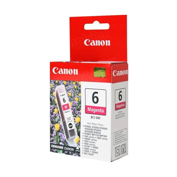Canon BCI-6M Magenta OEM Ink Cartridge