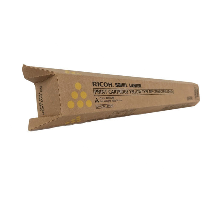 OEM 841343Yellow High-Yield Toner for Ricoh