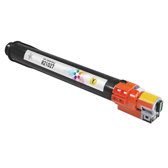 Compatible 821027 Yellow Toner for Ricoh