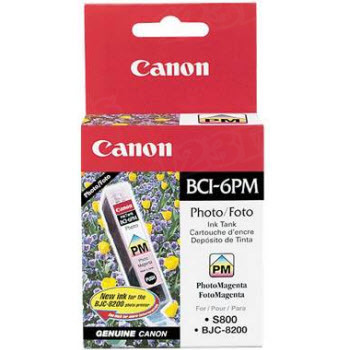 Canon BCI-6PM Photo Magenta OEM Ink Cartridge