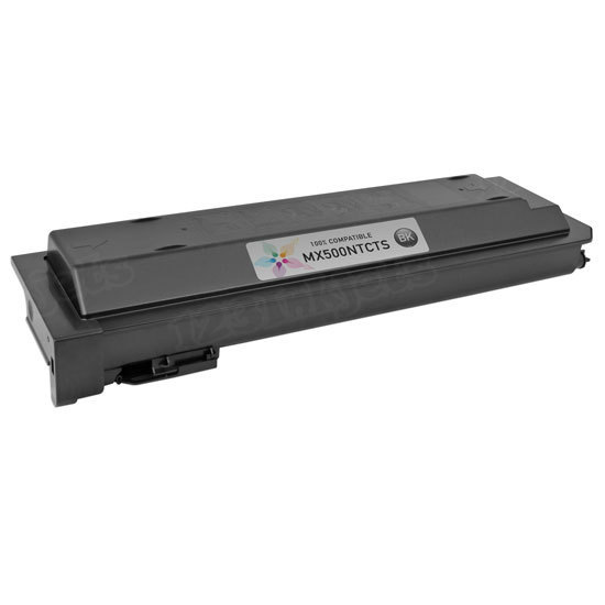 Sharp Compatible MX500NT Black Toner