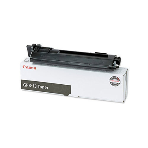 Canon GPR13BK Black Toner Cartridge, OEM
