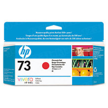 Original HP 73 Chromatic Red Ink Cartridge in Retail Packaging (CD951A)