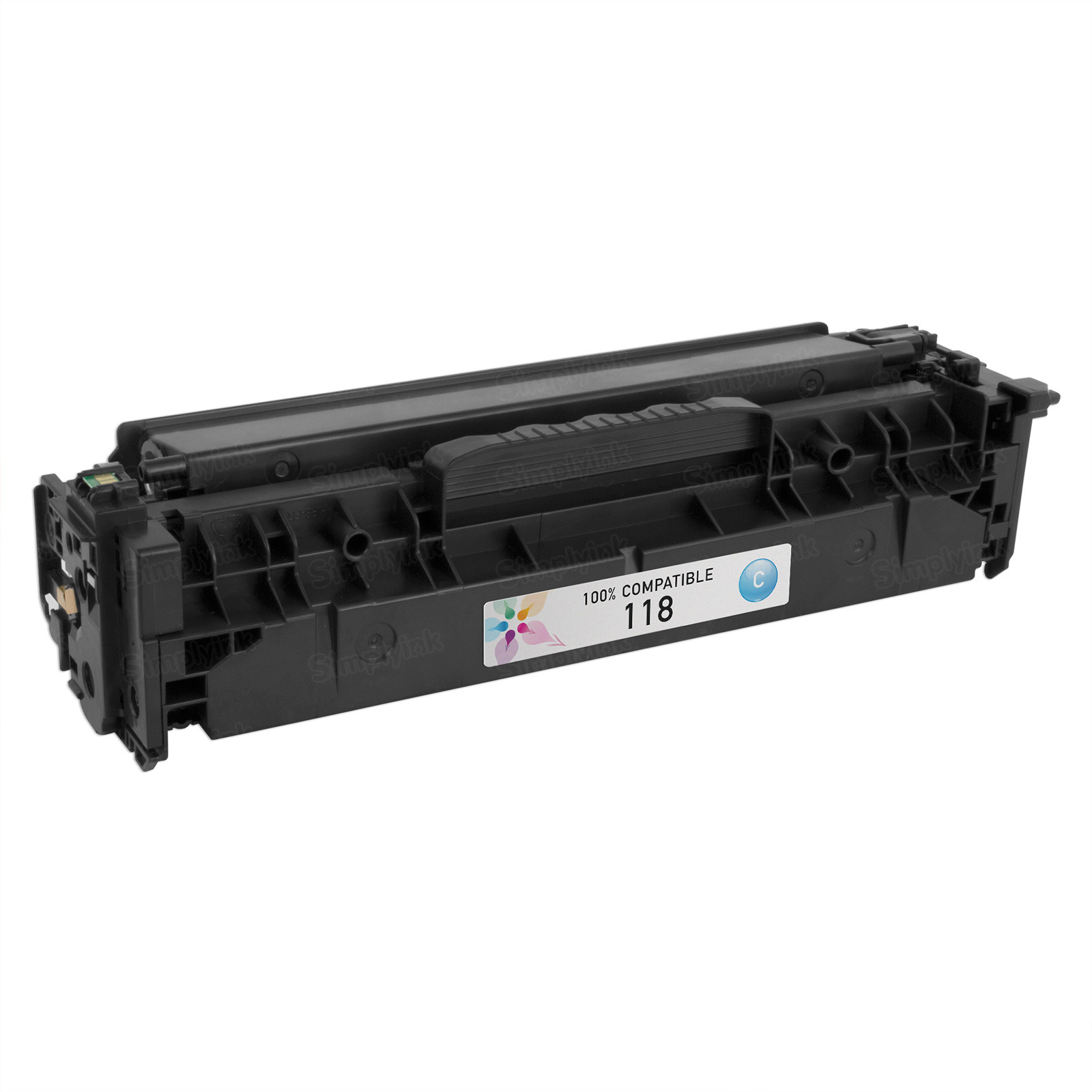 Canon 118 Cyan Toner Cartridge, Compatible