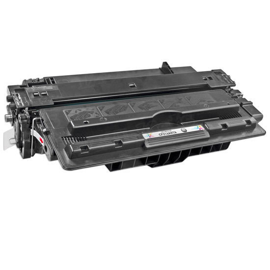 Remanufactured Replacement Black Laser Toner for HP 14A