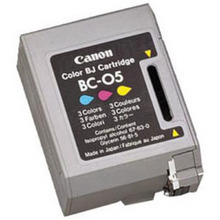 Canon BC-05 Color OEM Ink Cartridge, 0885A003