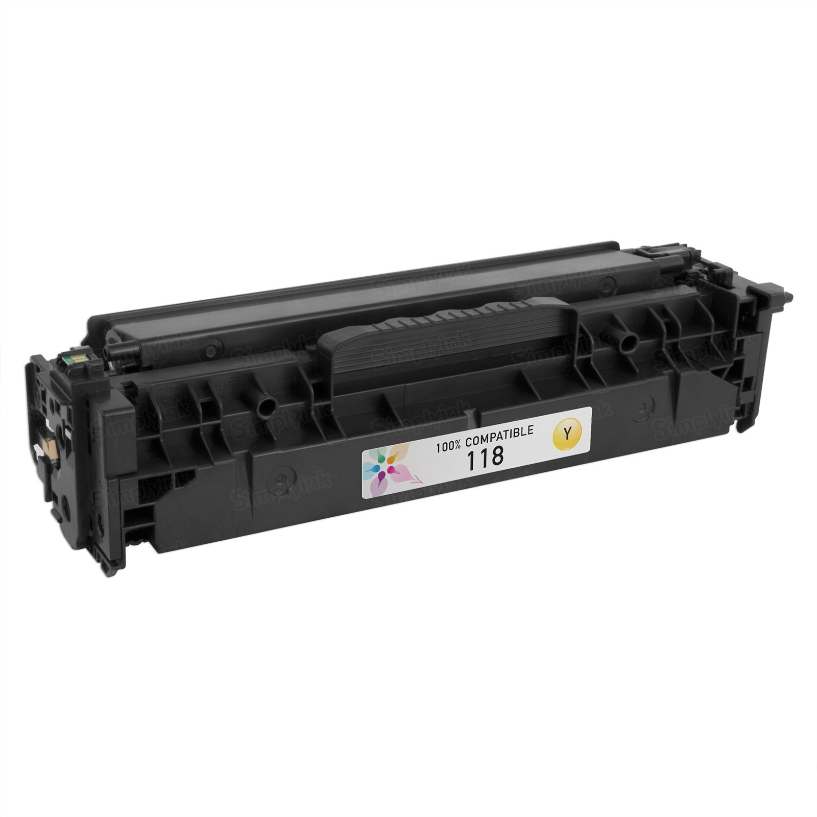 Canon 118 Yellow Toner Cartridge, Compatible