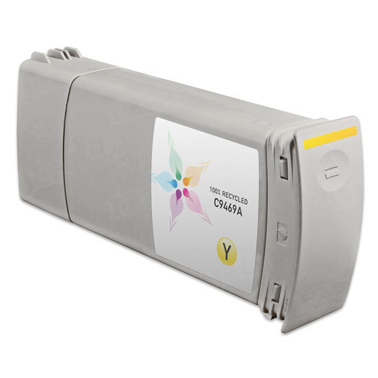 Remanufactured Replacement Yellow Ink for HP 91