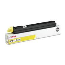 Canon GPR-13Y (8,500 Pages) High Yield Yellow Laser Toner Cartridge - OEM 8643A003AA