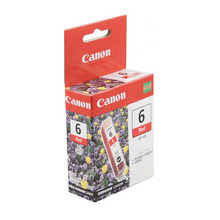 Canon BCI-6R Red OEM Ink Cartridge, 8891A003