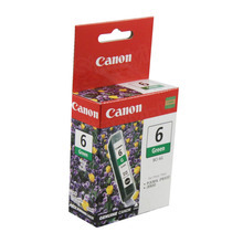 Canon BCI-6G Green OEM Ink Cartridge, 9473A003