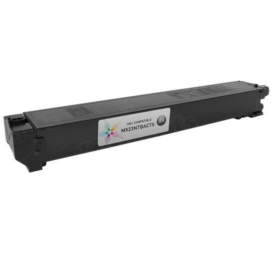Sharp Compatible MX23NTBA Black Toner