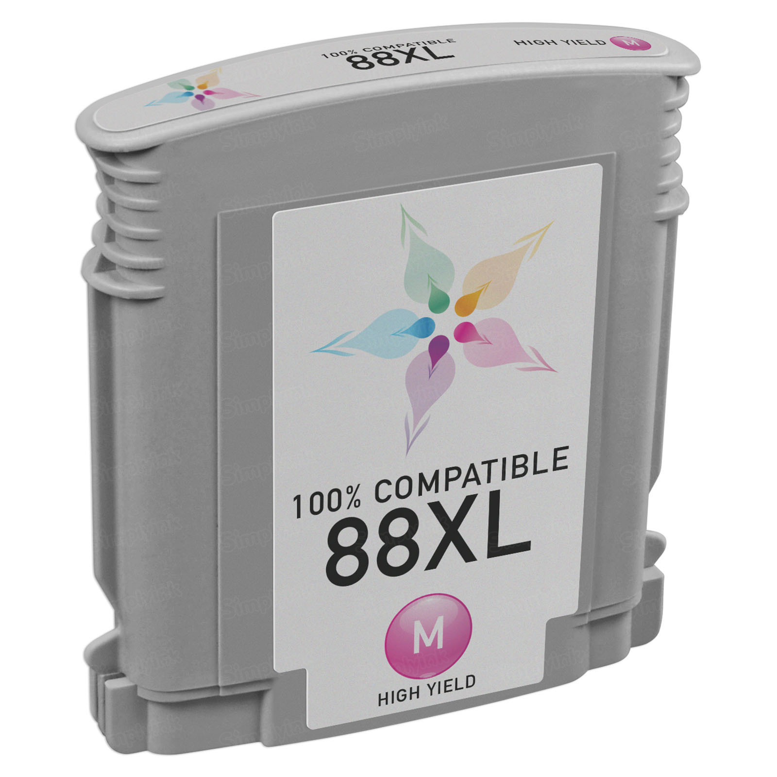 Remanufactured Replacement HY Magenta Ink for HP 88XL