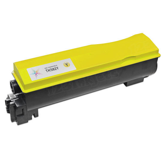 Kyocera-Mita Compatible TK582Y Yellow Toner Cartridge