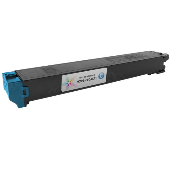 Sharp Compatible MX23NTCA Cyan Toner