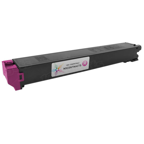 Sharp Compatible MX23NTMA Magenta Toner