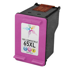 Remanufactured Replacement Ink Cartridge for N9K03AN (HP 65XL) Tri-Color