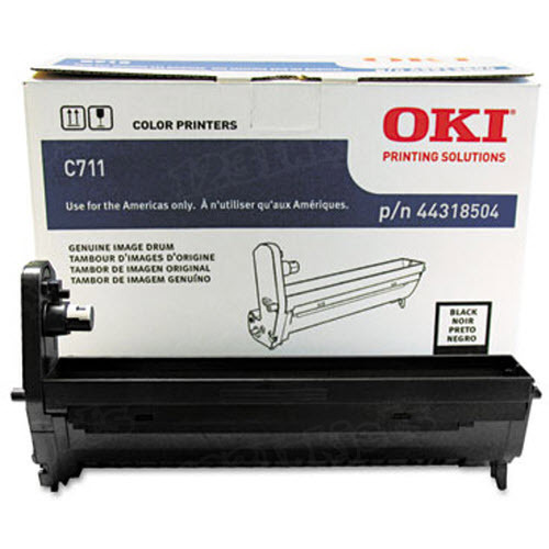 OEM Okidata 44318504 Black Drum