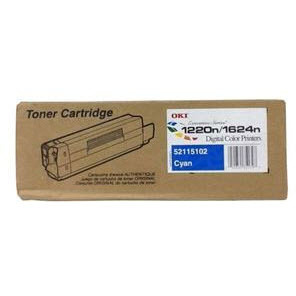OEM Okidata 52115102 Cyan Toner Cartridge