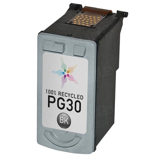Canon Remanufactured PG30 Black Ink