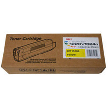 Okidata OEM Yellow 52115104 Toner Cartridge 5K Page Yield