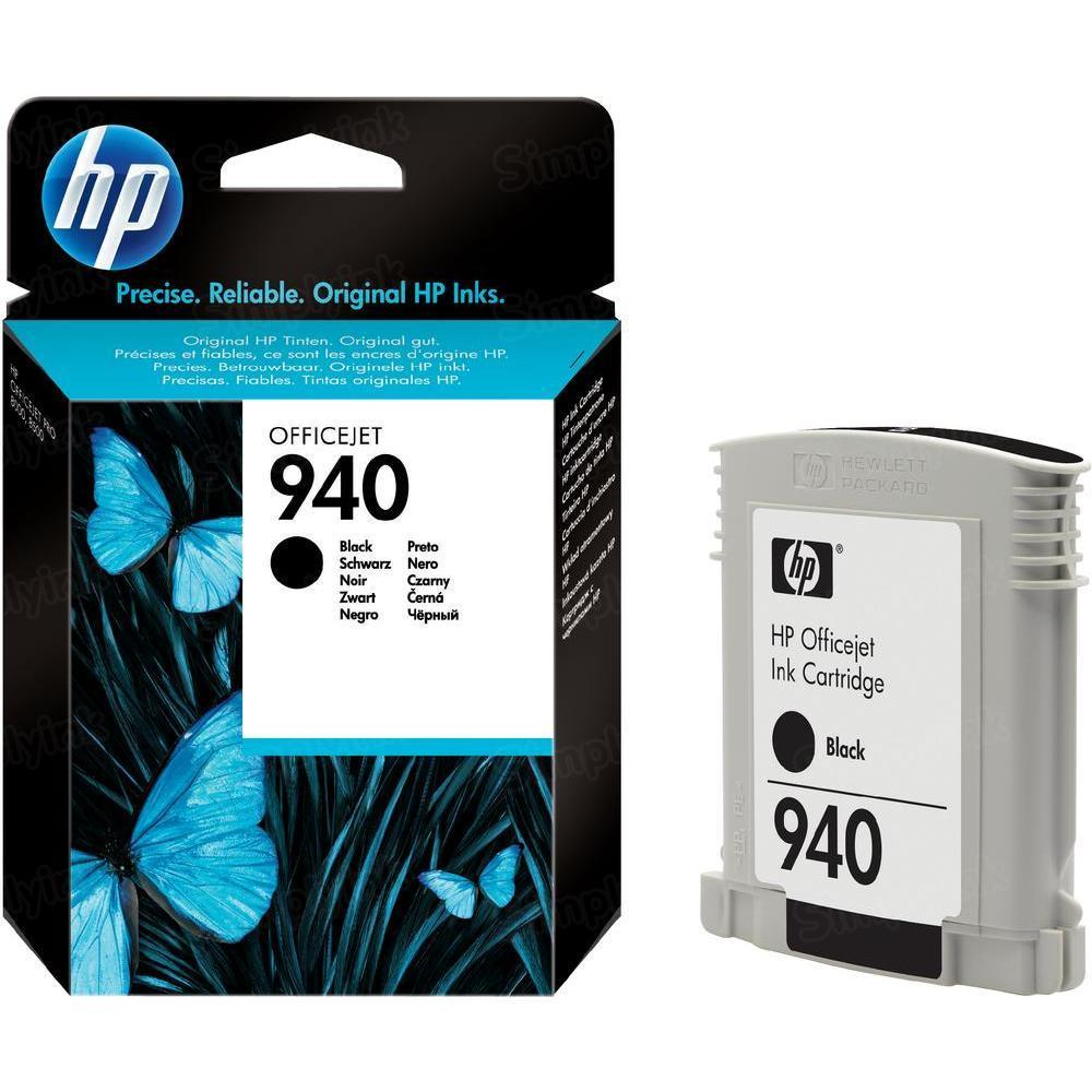 HP 940 Black Original Ink Cartridge C4902AN