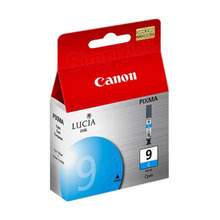 Canon PGI-9C Cyan OEM Ink Cartridge, 1035B002