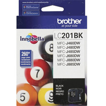 OEM LC201BK for Brother Black Ink Cartridge