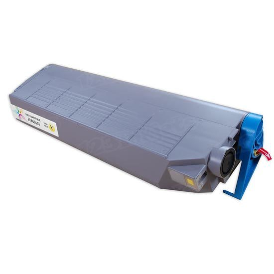 Okidata Compatible 41963601 HY Yellow Toner for C9300, C9500