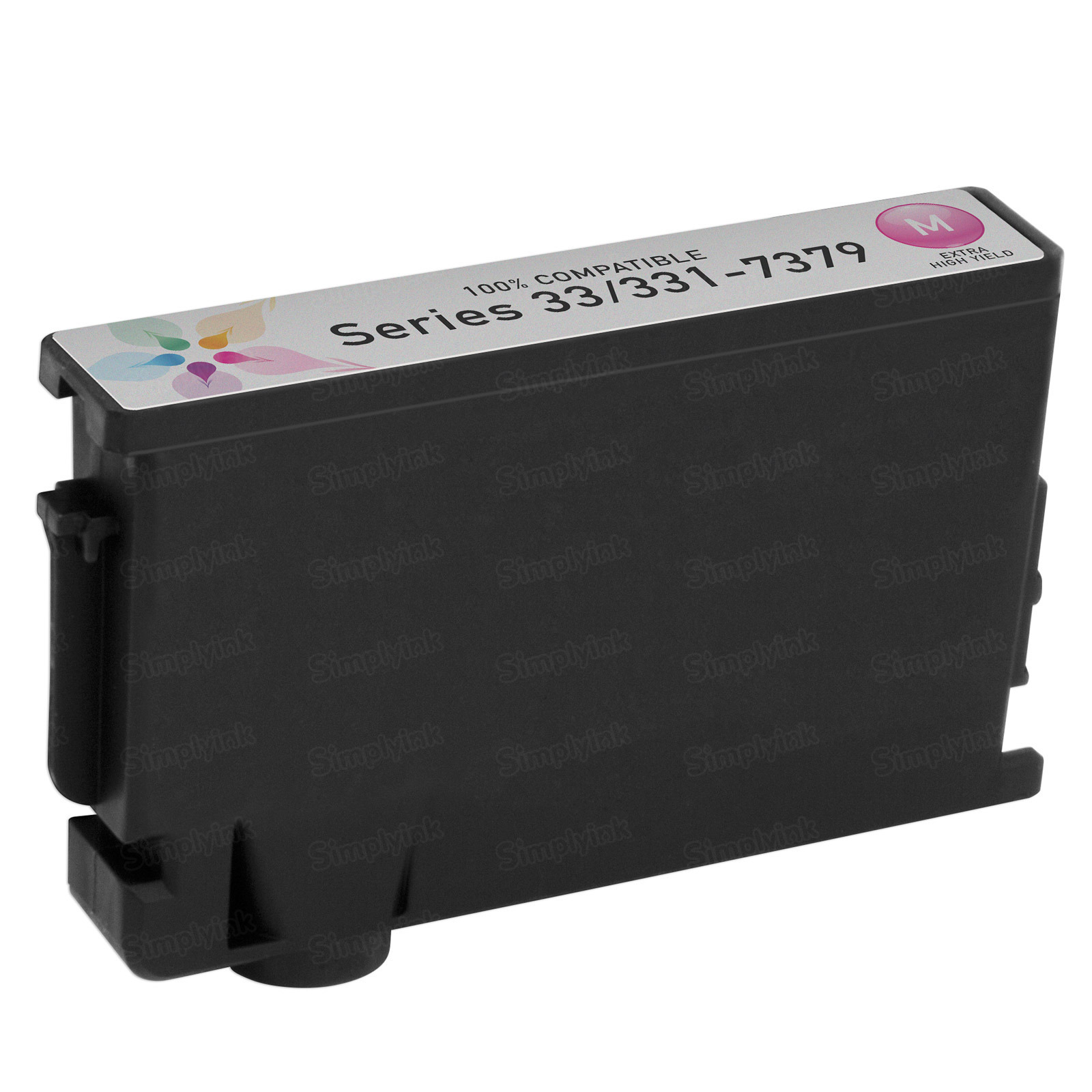 Compatible Ink Cartridge for Dell 331-7379 Extra HY Magenta Series 33