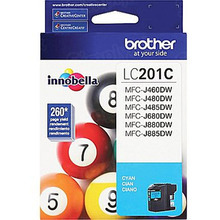 OEM LC201C for Brother Cyan Ink Cartridge