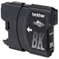 Brother LC65BK Black OEM Ink Cartridge, High-Yield