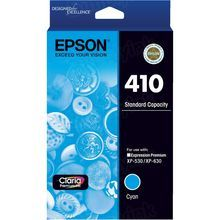 OEM Epson T410220 (410) Claria Hi-Definition Cyan Ink Cartridge