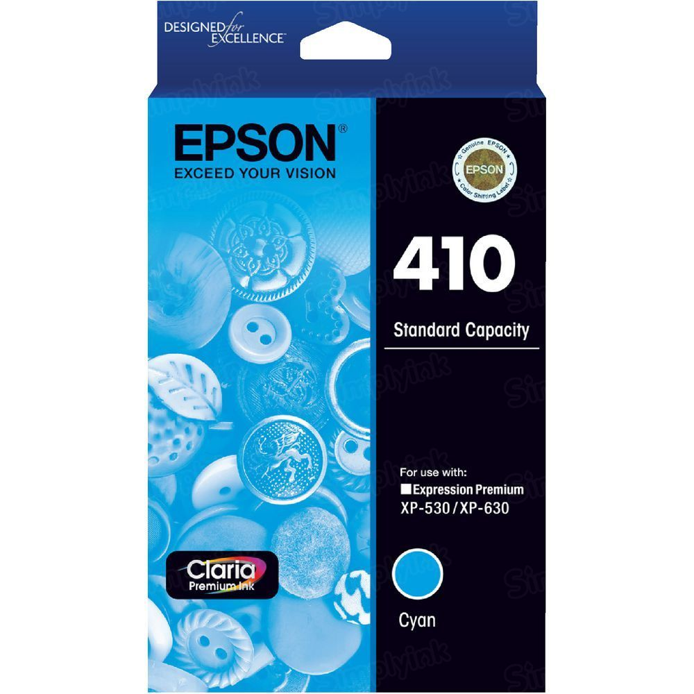 OEM 410 Cyan Ink for Epson