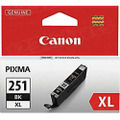 Canon CLI-251XLBk Black OEM Ink Cartridge