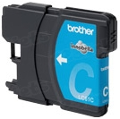 Brother LC65C Cyan OEM Ink Cartridge, High-Yield