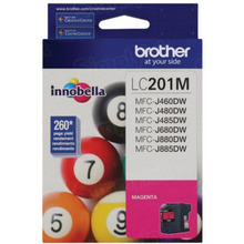 OEM LC201M for Brother Magenta Ink Cartridge